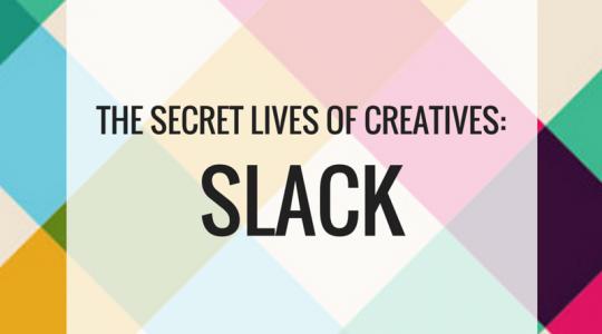 graphic image for the secret lives of creatives slack