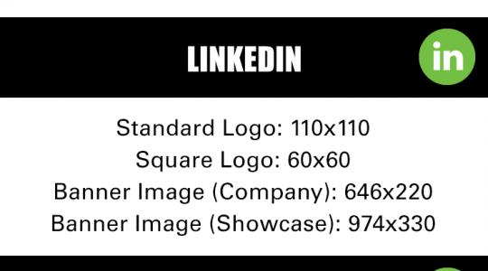 social media image sizes the crush agency