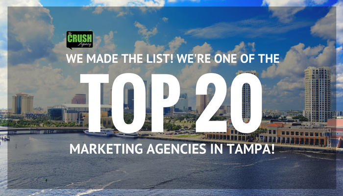 crush blog graphic tampa marketing award