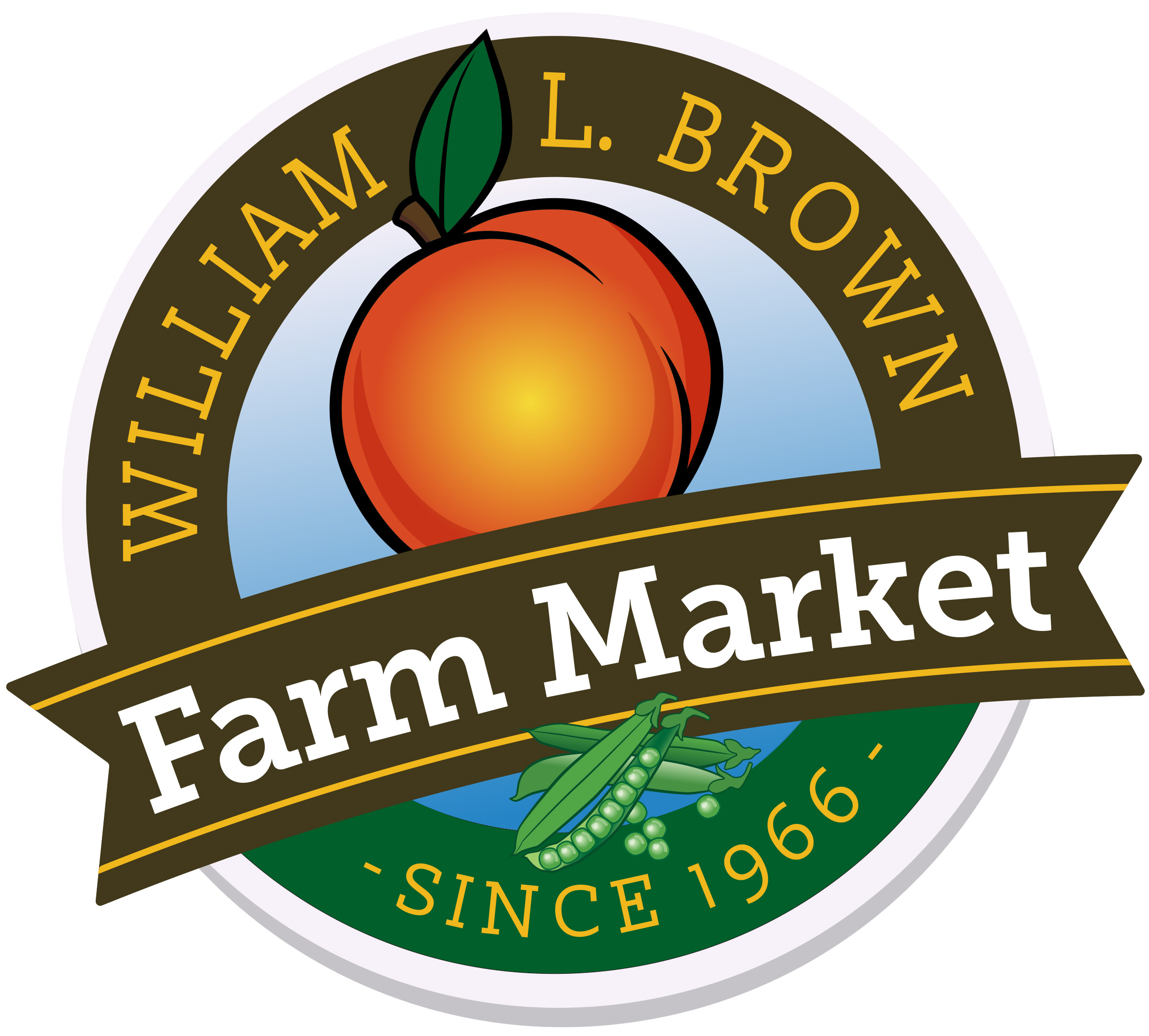 William L Brown Farm Market Logo